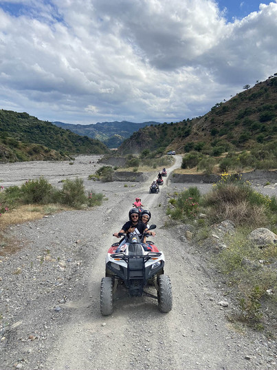 Sicily Quad Bike Adventure, Alcantara Tour