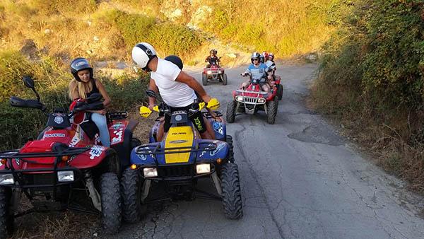Sicily Quad Tour, Trail
