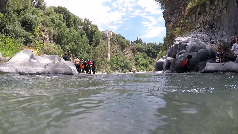 Dentro il fiume, Body Rafting Alcantara