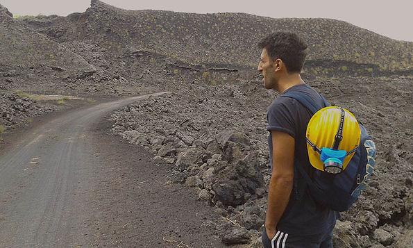 Etna Hike, Caves