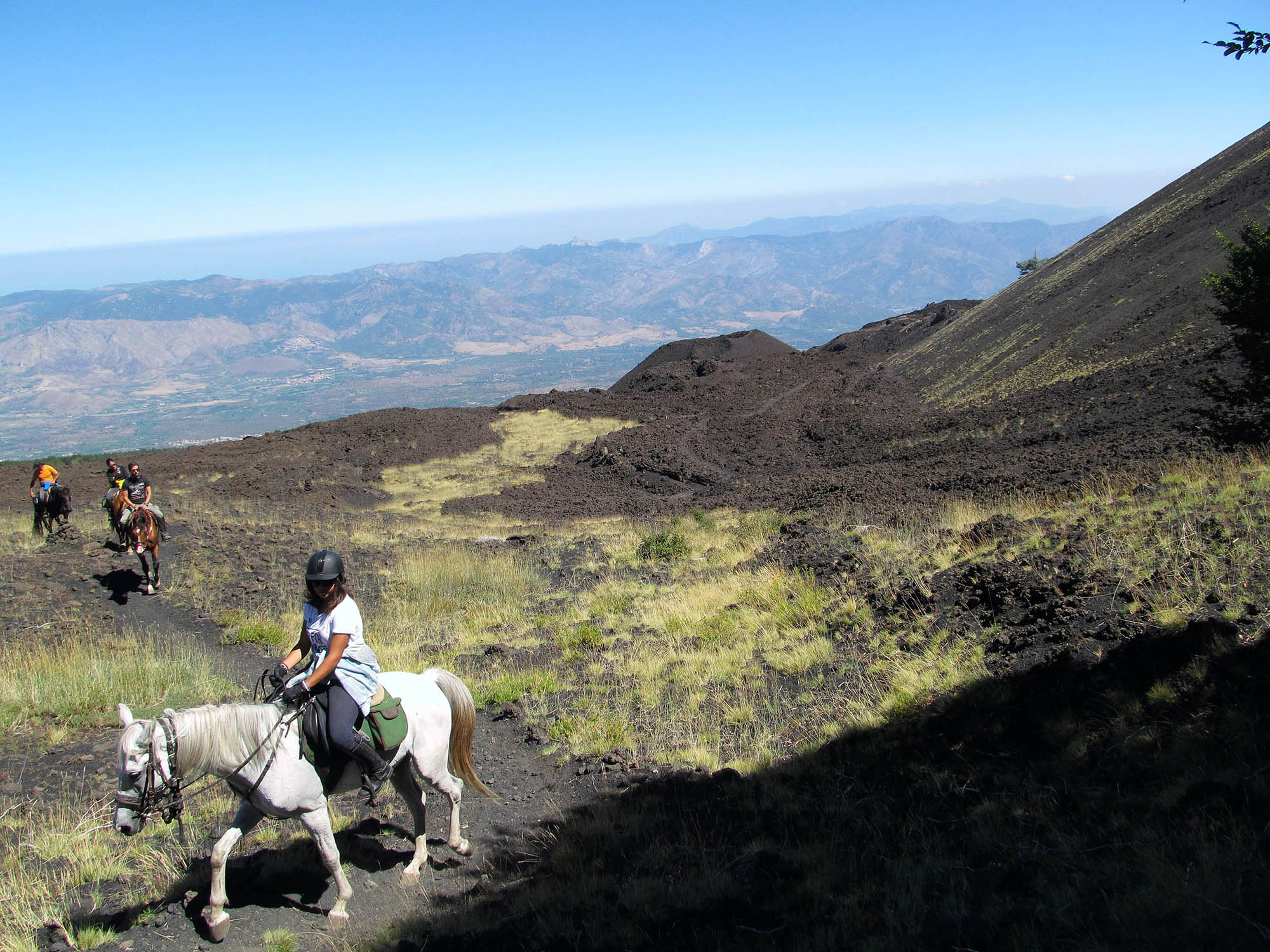 Horseback Riding Etna
