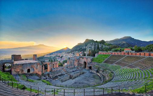 Teatro Greco di Taormina, Tour Sicilia Orientale 10 Giorni