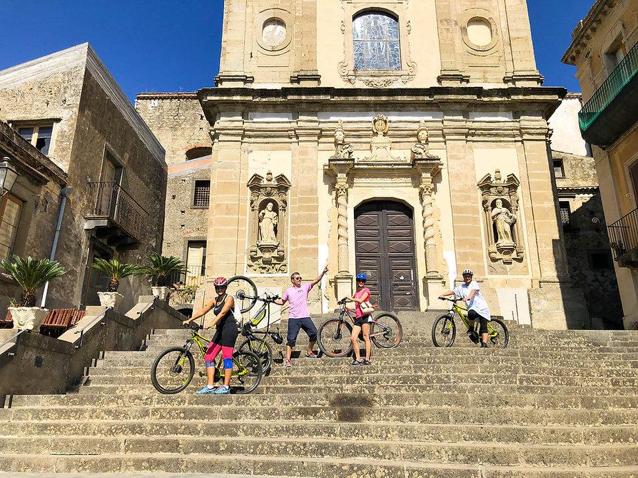 Sicily Biking Tour, Alcantara Gorges