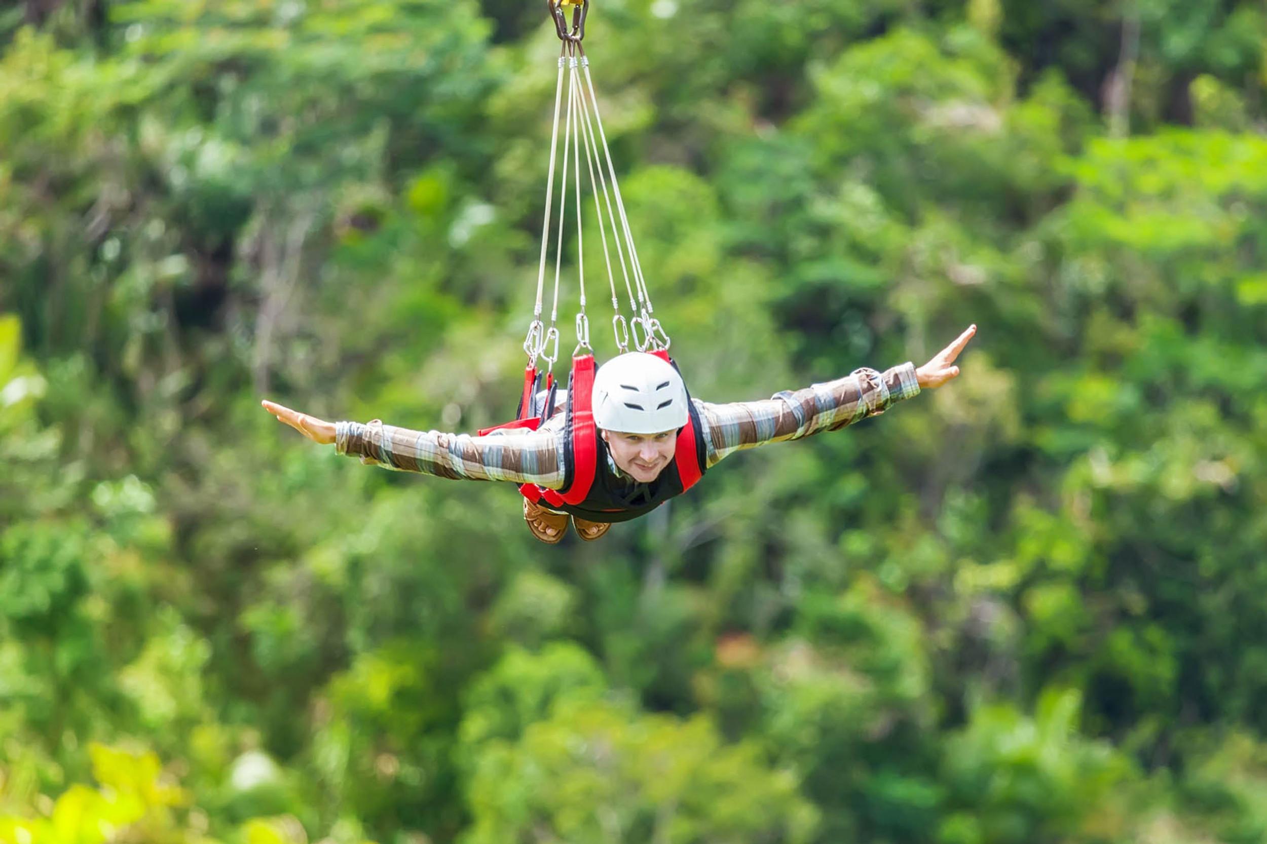 Sicily Zipline Adventure 130 Km Speed Flying On The Madonie Park