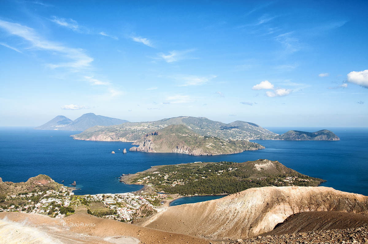 Aeolian Islands View, Walking in Sicily
