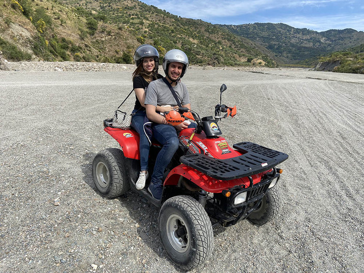 Alcantara Gorges, Quad Bike Sicily