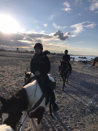 Passeggiata a Cavallo sulla spiaggia Milazzo