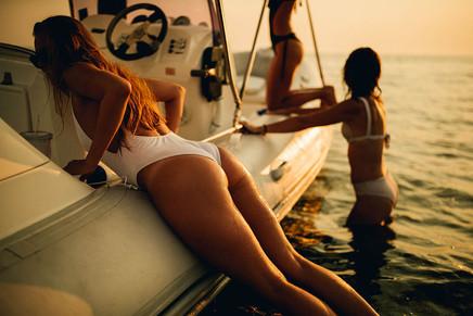 Sunset, Boat Trips Favignana