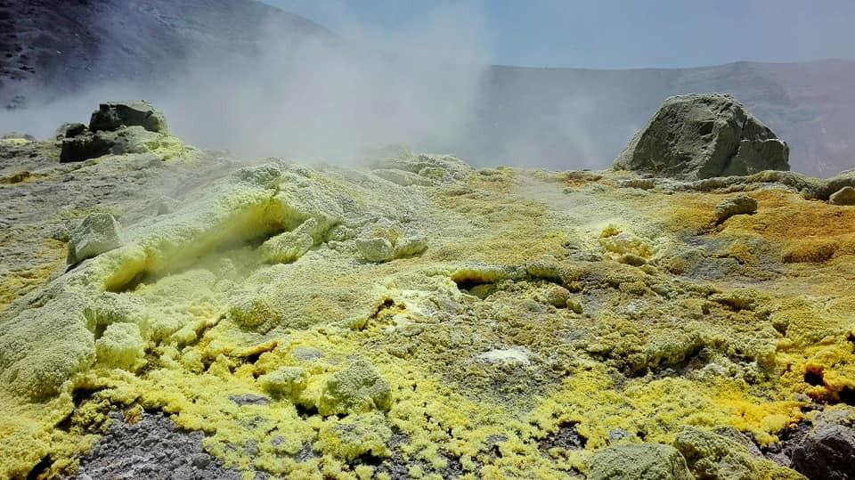Fumaroles, Aeolian Island Tour
