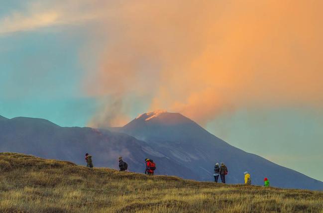 Short Trekking, During Etna eBike Tour