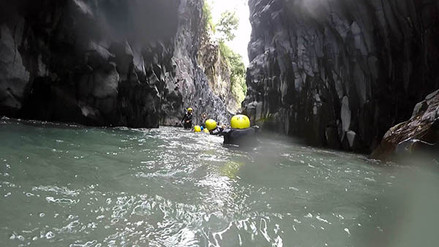 Best Places in Sicily, Alcantara Excursions, Body Rafting