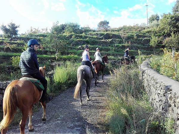 Horse Excursions, Sicily