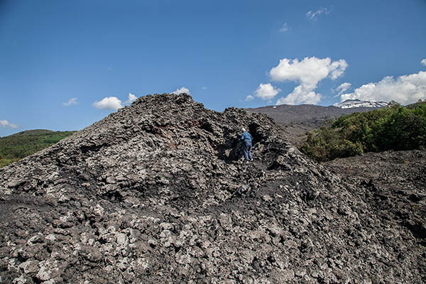 Etna Hike, Little craters