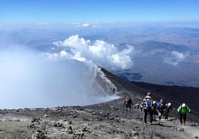 Cratere Centrale, Escursioni Etna in Fuoristrada