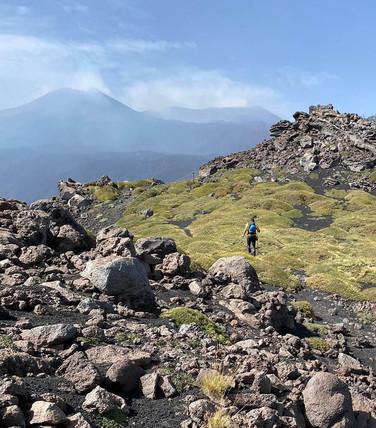 Sentiero di Cresta, Valle del Bove