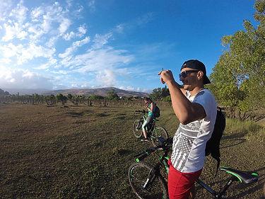 Escursione in bici sull'Etna, Lago