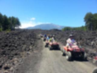 Pasquetta sull'Etna, Etna Quad Tour