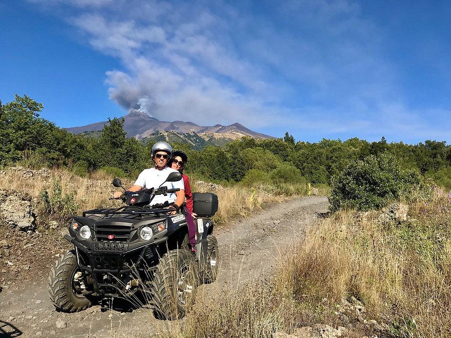 Escursione Etna Quad Tour