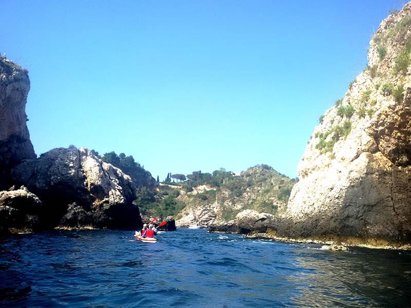 Escursioni Kayak Giardini Naxos