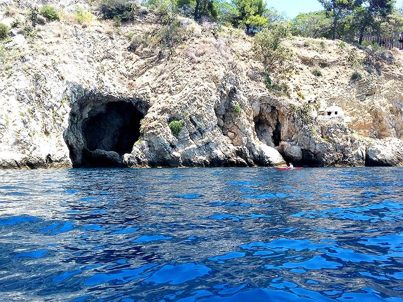 Lover Cave, Kayaking in Taormina