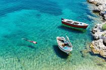 Nuotata, Escursione in Barca Favignana