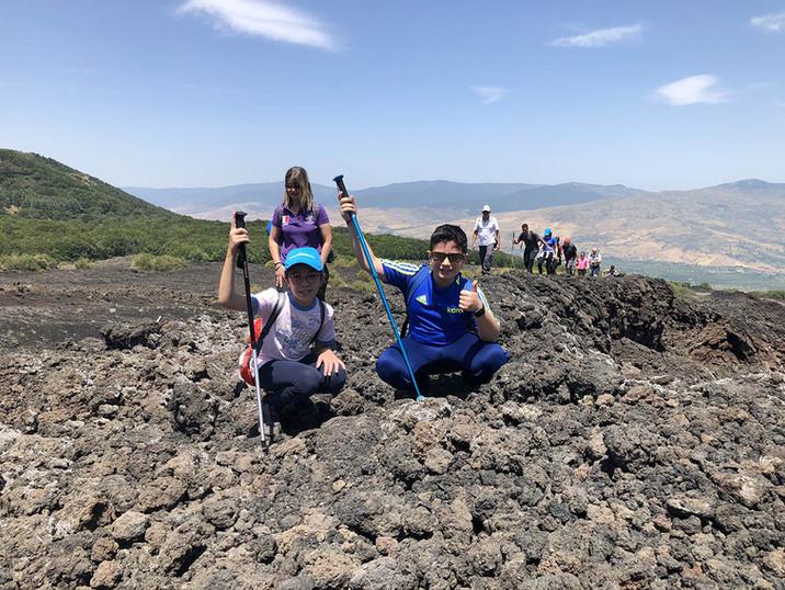 Piccoli escursionisti, Visita guidate Etna