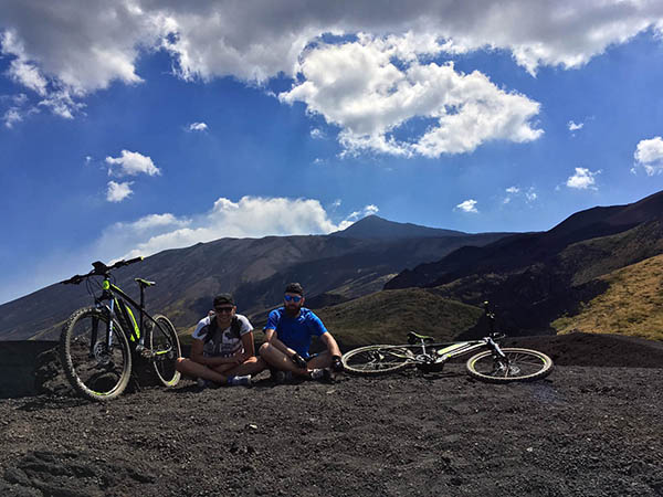 Cycling Holidays in Sicily, Crater