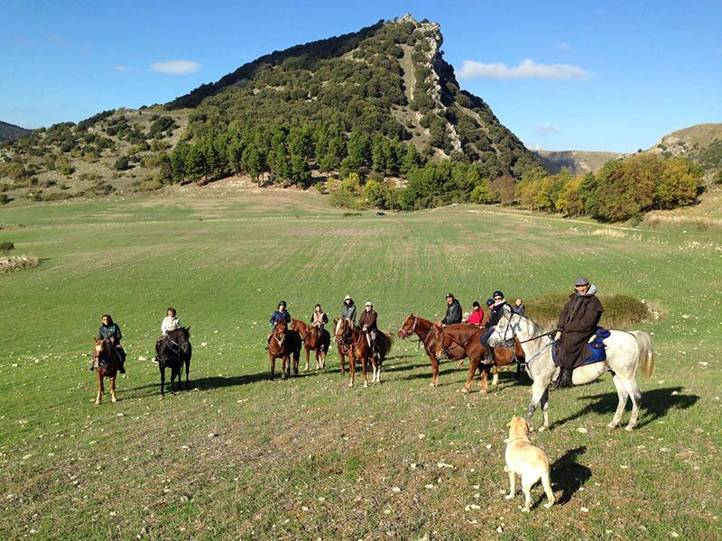 Horse Riding in Sicily, Nebrodi