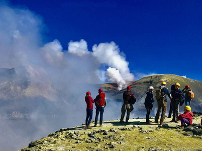 Fumaroles, Etna Summit Tour