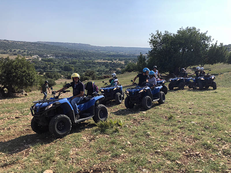 Panorama, Sicily Quad Bike Adventure