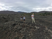 After an eruption, Etna Tours