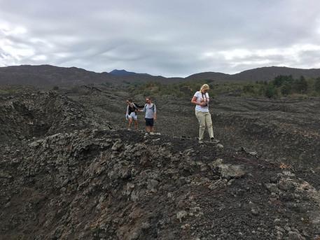 After an eruption, Etna Tours