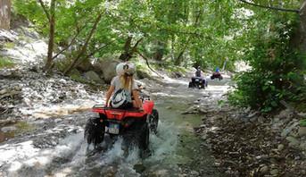 Alcantara Gorges Trail, Quad Tour