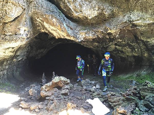 Etna Bike Tours, Cave