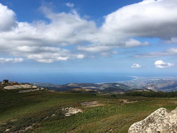Vista sul Mare dall'Altopiano, Trekking Argimusco