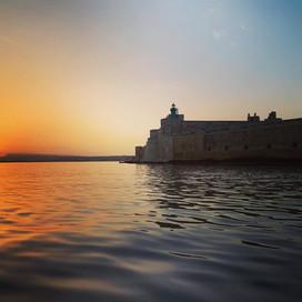 La bellezza di Ortigia al tramonto