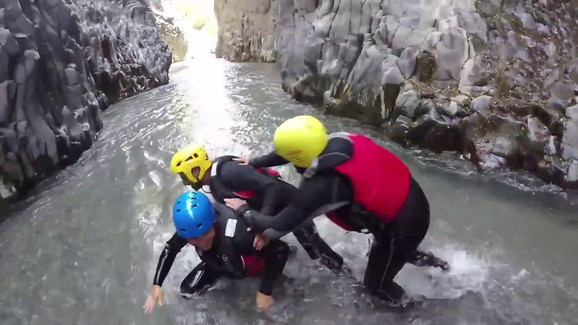 Body Rafting Alcantara Video