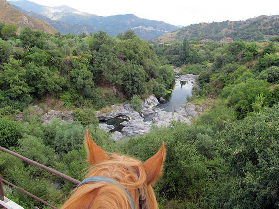 Horse Riding Excursion in Sicily, River