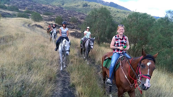 Horseback Excursions, Etna