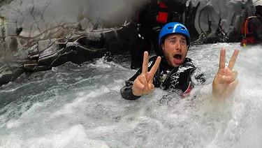 Avventure in Sicilia, Rafting