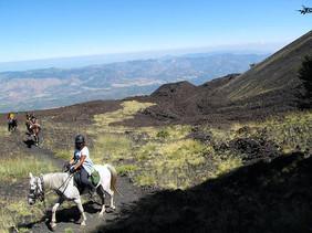Escursione a Cavallo, Etna Tour