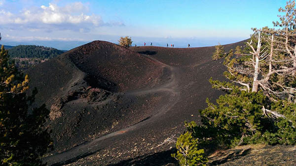 Sicily Family Tours, Craters