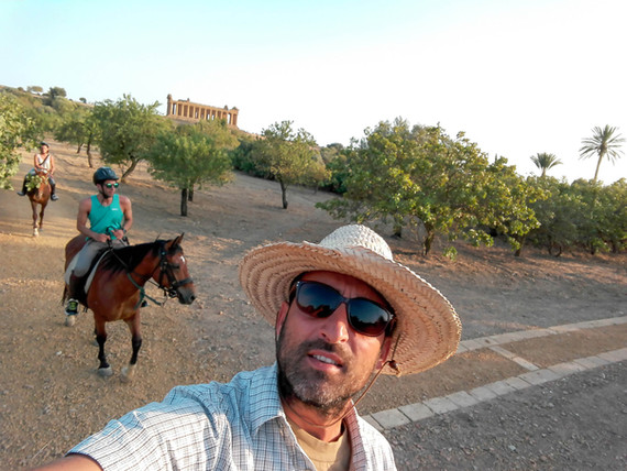 Maneggio Agrigento, Escursioni