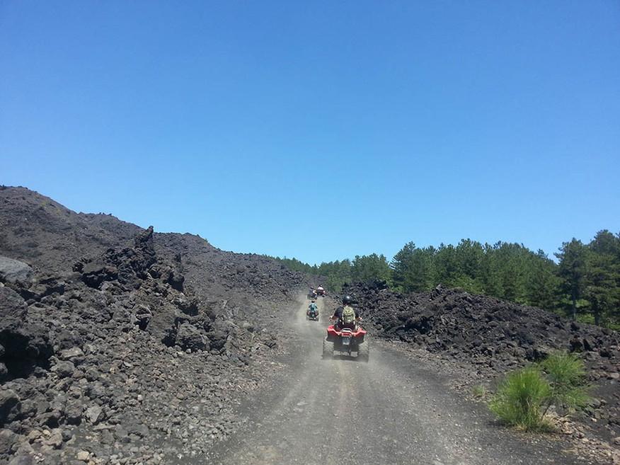 Sicily Quad Bike Adventures, Etna