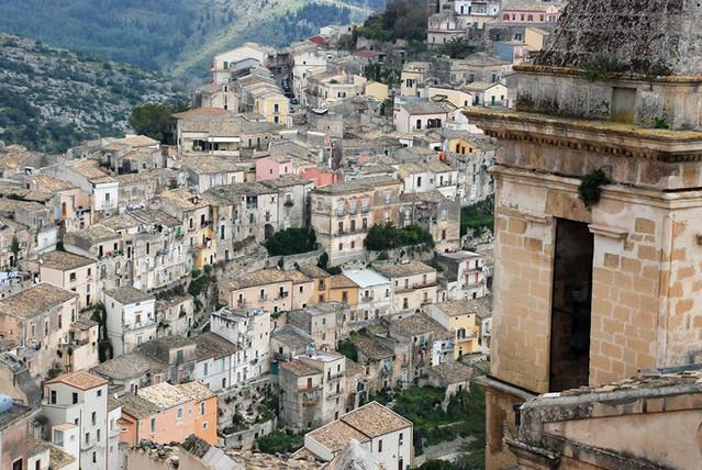 Ragusa Ibla dall'alto, Escursioni Ragusa
