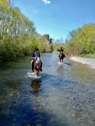 Horse Riding with The Island of Wonders