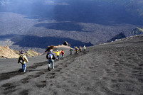 Ridiciscesa da Canalone, Escursioni Etna 3000 metri