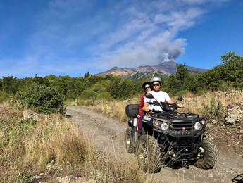 South-East Craters view, Etna Quad Tour