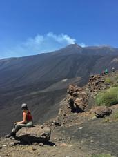 Vista Crateri Sommitali, Etna