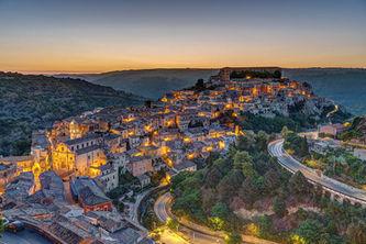 Panoramica su Ragusa Ibla, 10 Giorni in Sicilia